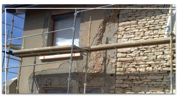 ravalement de façades à La-Tour-du-Pin