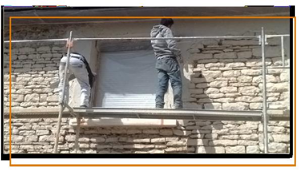 ravalement de maison ancienne à Bourgoin-Jallieu
